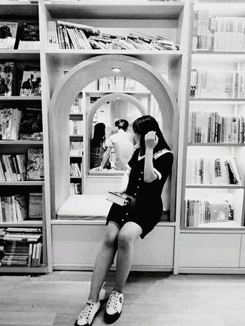 Desire Bookshelf Young Women Full Length Women Ballet Dancer Flexibility