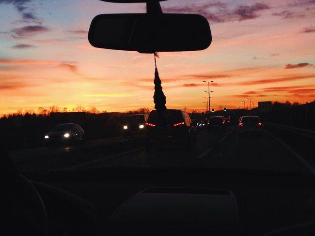 stunning sunset 🌆 First Eyeem Photo