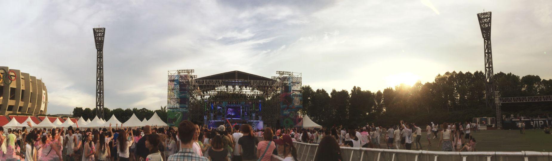 LifeInColor Festival South Korea IPhoneography