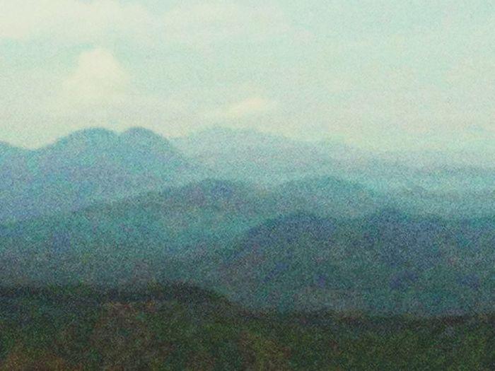 Mountain Range as seen from Mt. Balagbag Summit