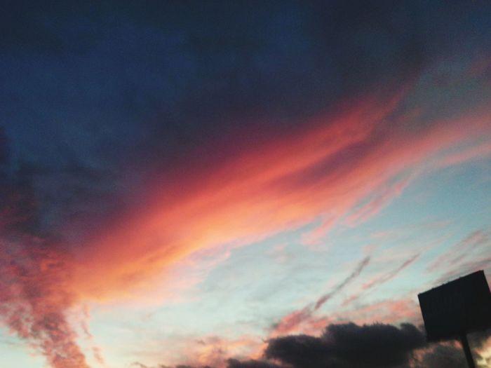 Cielo Azul Y Nubes❤ First Eyeem Photo
