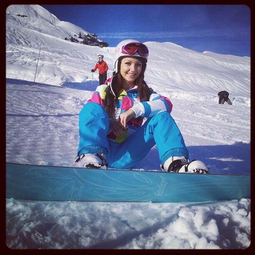 Me Snow Snowboard Winter holidays