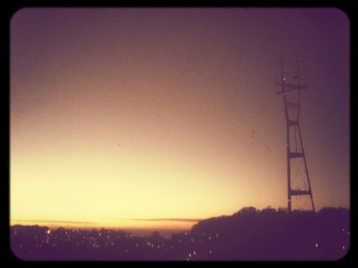 San Francisco Check This Out Sutro Sunset