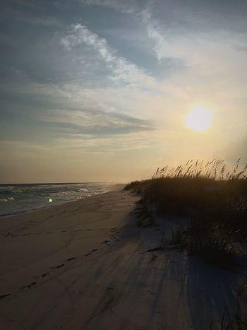Infinity Sky Land Beach Beauty In Nature Water Sunset Sea