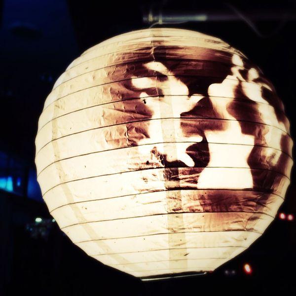 十五夜お月様見て跳ねる。 Moon Tyouchin Usagi Learn & Shoot: After Dark Japanesetraditional Lamp