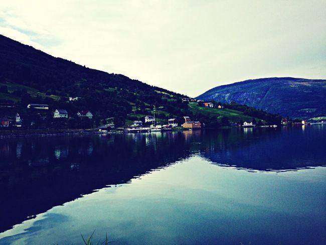 Fiordos Norway Water Reflections Beautiful Nature Enjoying Life