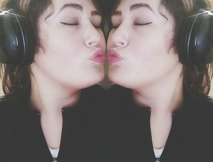 Silly Kisses Narcissism Self Portrait