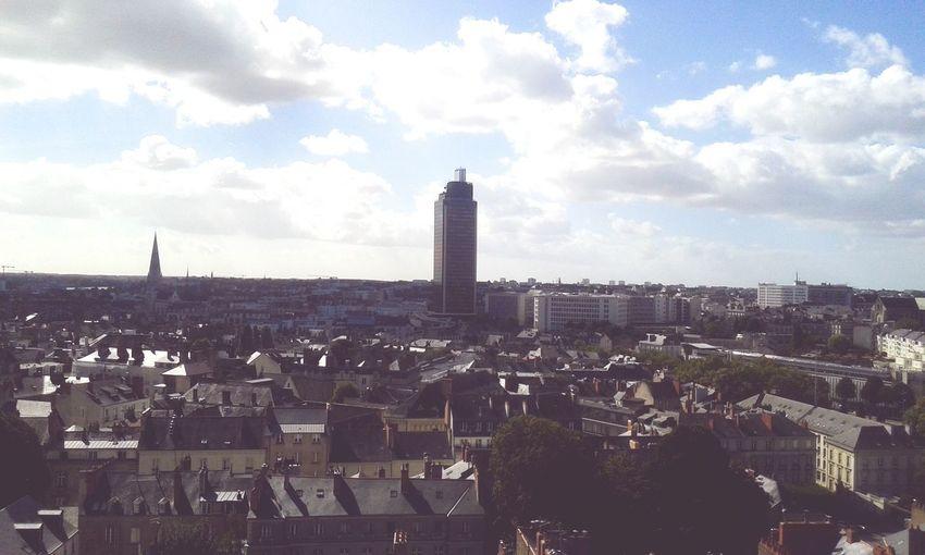 Nantes vue de la Grande Roue🎡 Magnifique👌💝 Nantes Vue De La Grande Roue Ville Magnifique