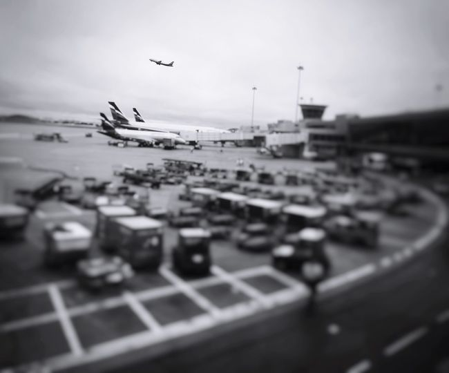 Flying Built Structure Building Exterior Architecture Transportation City Airplane Sky Mode Of Transport No People Day Air Vehicle Outdoors Tilt-shift Cityscape Airplane Wing Traveling Airport EyeEm Gallery EyeEm Best Shots 冲上云霄 Things I Like Check This Out Blackandwhite
