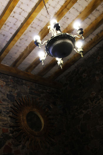 Mexico Pueblo Mágico Architecture Built Structure Ceiling Ceiling Fan Close-up Day Hacienda Huasca De Ocampo Illuminated Indoors  Interior Photography Lighting Equipment Low Angle View No People