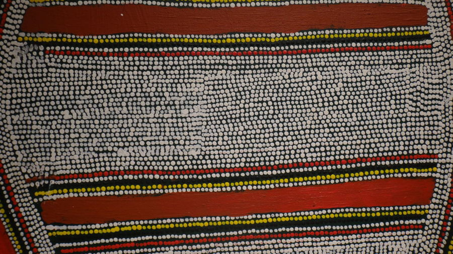 CAIXA CULTURAL PRACA DA SE SAO PAULO BRAZILO Tempo dos Sonhos - Arte Aborígene Contemporânea AUSTRÁLIA Abundance Arrangement Art And Craft Backgrounds Close-up Colorful Design EyeEm Team Fabric Full Frame In A Row Indoors  Large Group Of Objects Multi Colored No People Pattern Red Repetition Textile Textured  Variation