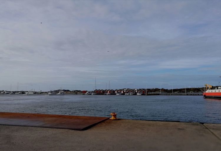 Island Göteborg Sweden Sea And Sky Harbour View Color Blue Sky Coldweather Peaceful No People Reflection Autumn