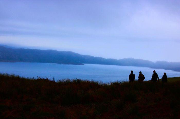 The Storr Loch  Scotland Nature Montana Canon Canonphotography Sillouette Photography Photographer Fotografia