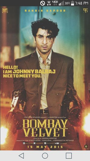 Went to see this amazing movie with my cousin for his birthday Wednesday night! If you havent seen it you should! Bombayvelvet Stillwishjohnnywouldhavelived Movies