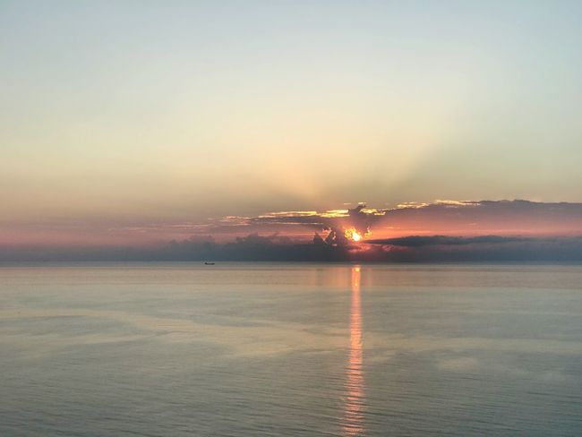 Moments Florida Capture The Moment Sky Water Sunset Scenics - Nature Sea Beauty In Nature Nature Tranquility Tranquil Scene No People Horizon Over Water Cloud - Sky Reflection Outdoors Waterfront