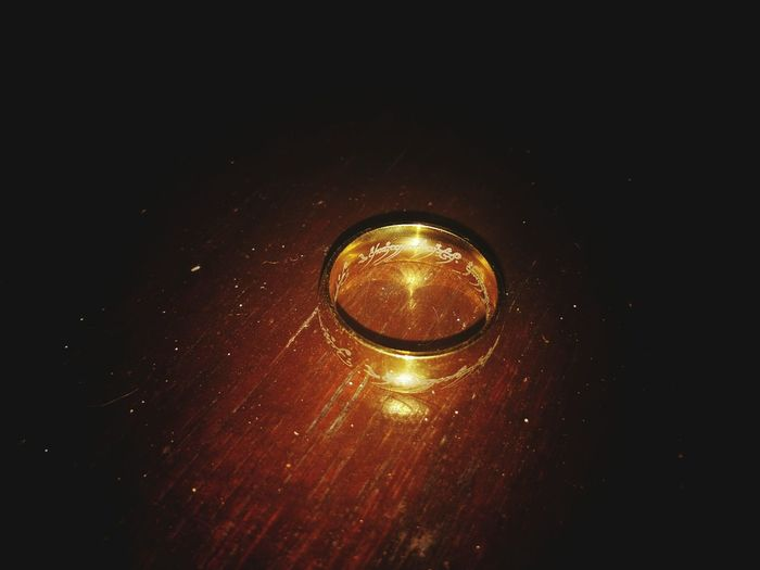 One ring to rule them all. LOTR Lord Of The Rings Fantasy Ring Black Background Fiction Power Magic Gold Frodo Sauron Mordor Middle Earth Gandalf Thranduil  The Hobbit Hobbit Dragon Aragorn Boromir Gimli Legolas Pippin Merry Samwise Gamgee Astronomy Space Galaxy Illuminated Sky