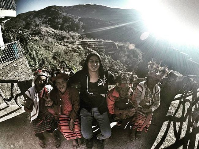 And we meet again mga nanang.. Wakiwaki... Happyhappy..hephephuray. With igorot tribe Pinoywanderer Palladiumboots Doyoutravel Theglobewanderer Discoverearth Travel_pic Amazing_pictures Goprouniverse Goprophotography_ Goproph  Gopro