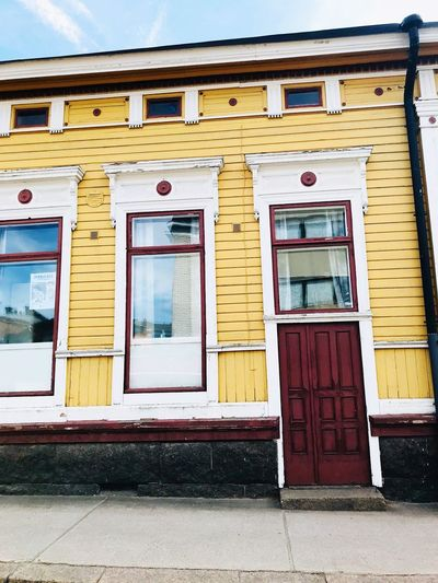 wooden house of the beginning of the 20th century in the streets lead to the town Architecture Building Exterior Window Built Structure No People Day Old Entrance Door City Outdoors Building Abandoned Nature Street Weathered Transportation Sunlight Closed Damaged