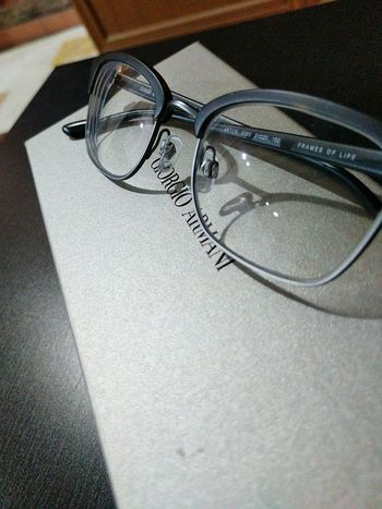 Eyeglasses  High Angle View Close-up Indoors  No People Day Vision Eyesight