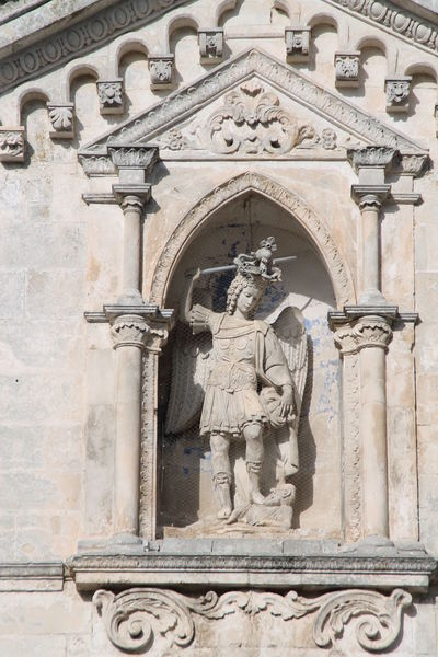 Religion Arch Outdoors Bas Relief History San Michele Arcangelo