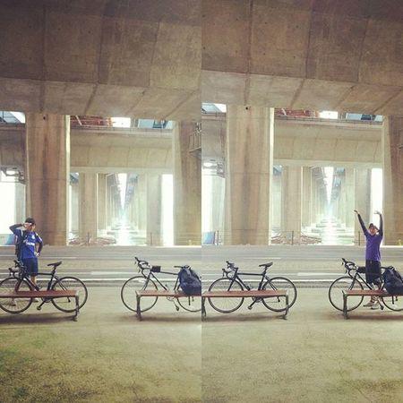 今日から自転車旅行です!3泊4日で行ってきます! 今回は韓国、仁川の方に向かいます! 島が沢山あるので自転車島巡りです! 写真随時更新します! それではw 自転車旅行 自転車 자전거여행 자전거 ロードバイク 로드바이크 旅行 秋夕 한강 楽しい 親友 行き先 仁川 島巡り 旅行中 休憩 写真 随時更新 3泊4日 今日から出発 ! 若者よ若いうちに愉しむべし 韓国 頑張る 走ります
