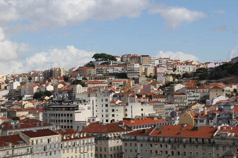 Panorama View of Lisbon, Portugal Lisbon - Portugal Panorama Architecture Building Exterior Built Structure City Cityscape Day Lisbon No People Outdoors Sky Town
