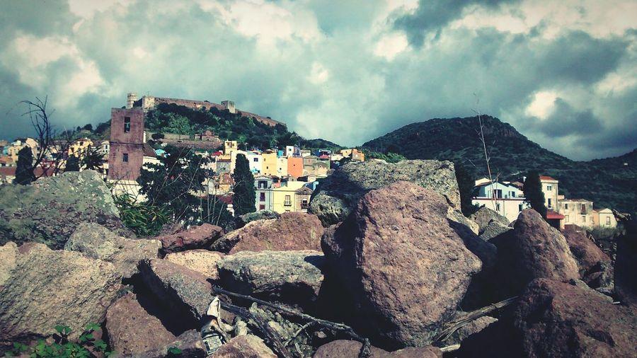 Sardinia Italy Taking Photos Nature_collection Nature Panorama Bosa Stones Oldtown