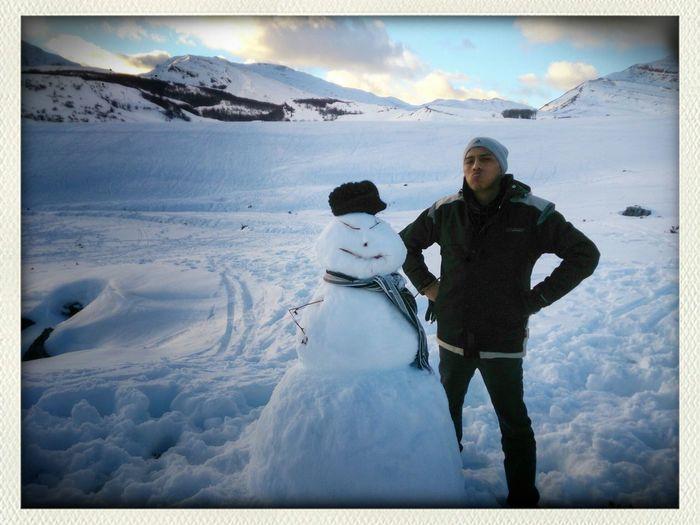 Snowman Enjoy ✌