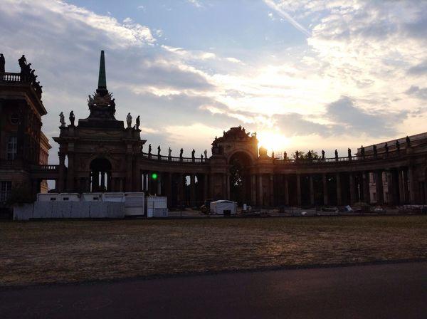 Potsdam Sansoucci Beautiful Day Beautiful View