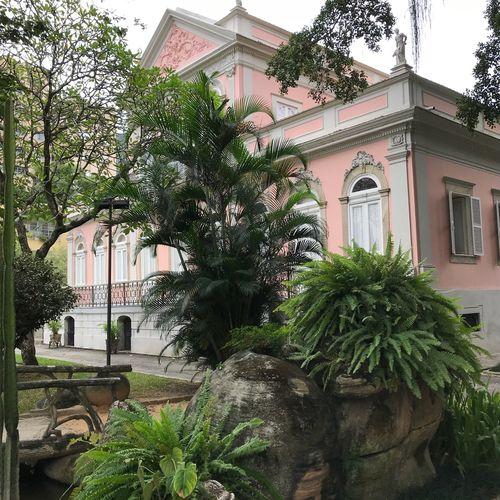Casa de Rui Barbosa Built Structure Architecture Plant Building Exterior Building Tree Growth Day Nature