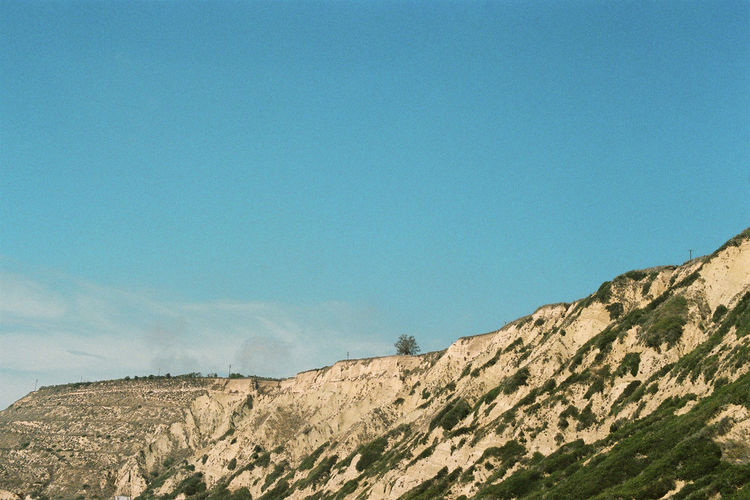 Analogue California Ishootfilm Nature Travel Analog Analog Photography Blue Canon Clear Sky Cliff Day Film Photography Filmisnotdead Landscape Mountain No People On The Road Outdoors Sky Travel Destinations