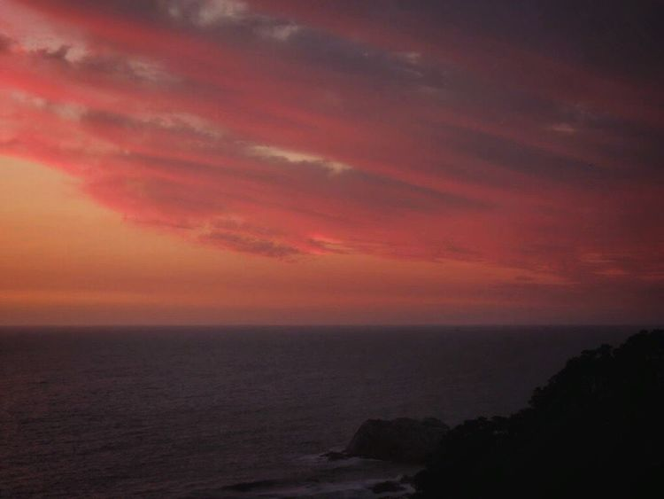 Romantic Sky Clouds And Sky Colors Pink Clouds Clouds And Sky Sky And Sea Afternoon Sky After The Sunset Beautiful Sky Sea And Rocks Sea View... Love It!  Pastel Clouds Lovely View From Where I Stand Horizon Over Sea Beauty In Nature Reñaca Beach , Chile
