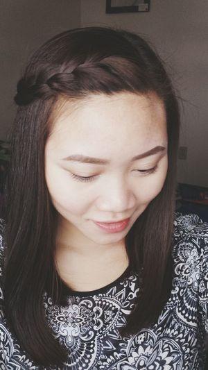 Hairstyle Braids Selfportrait Selfie Sidebraids