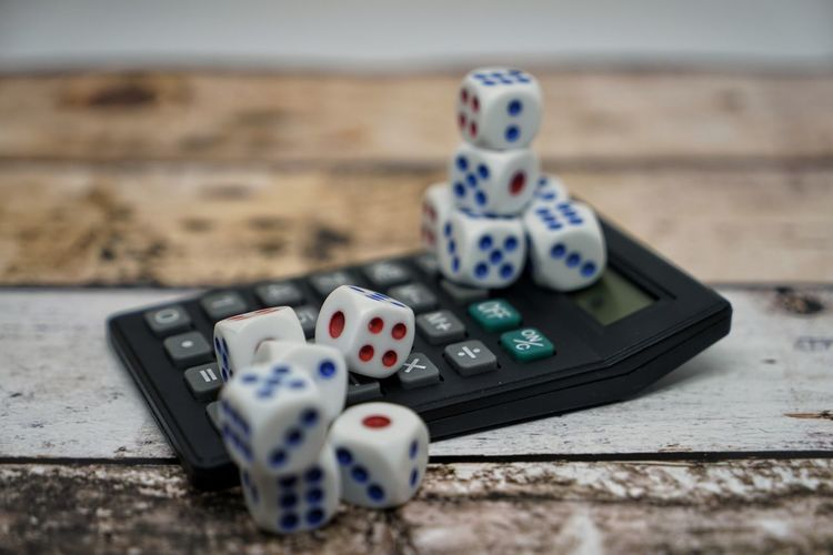 Arts Culture And Entertainment Choice Close-up Dice Focus On Foreground Gambling Game Of Chance Group Of Objects Indoors  Leisure Activity Leisure Games Luck Medium Group Of Objects No People Opportunity Relaxation Selective Focus Still Life Table Wood - Material