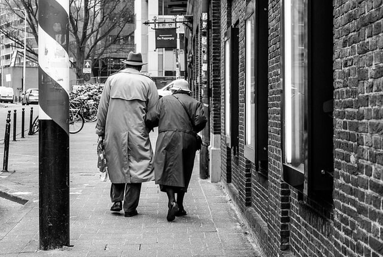 Streetphotography_bw Monochrome Old People