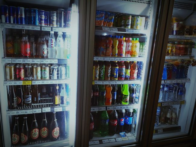 Shelf Variation Choice Large Group Of Objects Abundance Arrangement For Sale Indoors  Multi Colored Store Retail  No People Day EyeEm Gallery EyeEmNewHere Eyeemphotography Lights Refridgerator Refreshingdrink Refrigerated Section
