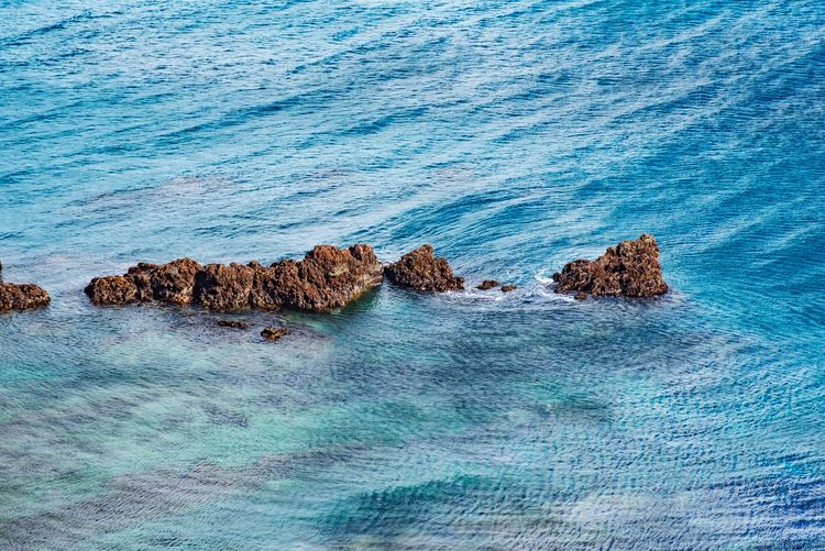 Ocean Sea Rock - Object Nature Blue No People Water Scenics Outdoors Wave Day Beauty In Nature