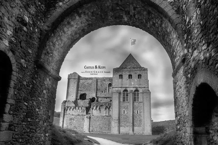 Castle Ruins Black & White EyeEm Best Shots - Black + White