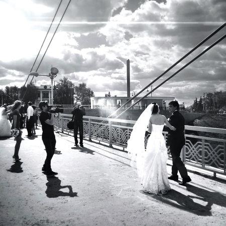 Lovers Bridge, Tyumen (Siberia, Russia)