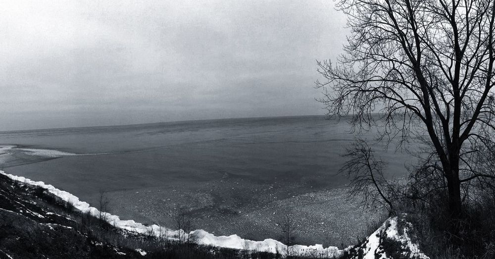Landscape Winter Panorama Mood Sky Lake First Eyeem Photo Showcase: February