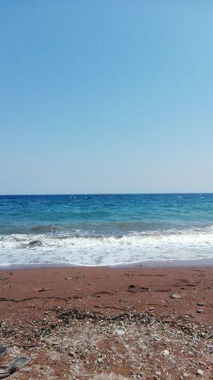 Tsonia Greece Lesvos Sea
