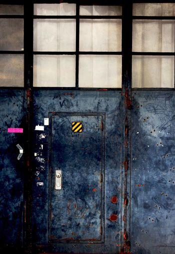 Radio Kootwijk Old Blue Door