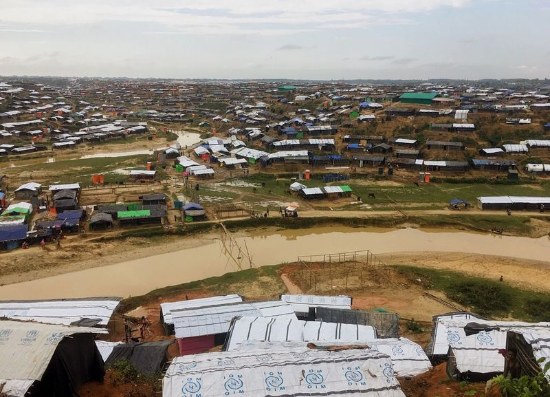 Second Acts High Angle View Building Exterior Refugee Rohingya Refugees Camp ASIA Landscape House