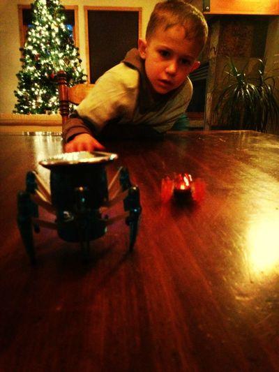 Robot Wars With My Nephew