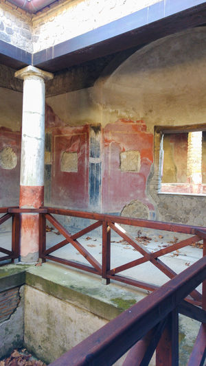 Ancient roman villa in Stabiae, bay of Naples, Italy Abandoned Ancient Architecture Bad Condition Built Structure Castellammare Di Stabia Close-up Damaged Day No People Obsolete Old Outdoors Roma Rusty Stabiae Villa Weathered