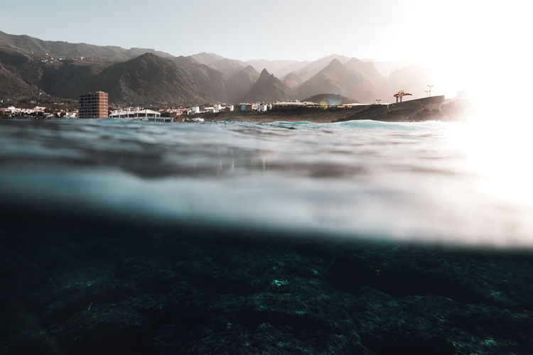 last light Canary Islands EyeEm Best Shots EyeEm Nature Lover EyeEm Gallery EyeEmNewHere Nature Beach Beauty In Nature Day Land Mountain Nature Nature_collection No People Non-urban Scene Outdoors Rock Scenics - Nature Sea Sky Surface Level Tenerife Tranquil Scene Tranquility Water
