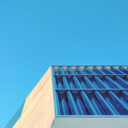 Casa da Música Built Structure Architecture Clear Sky No People Outdoors Blue Day Building Exterior