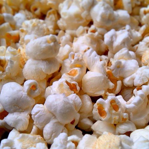 Popcorny New Year Food Photography Food Porn Closeup Food