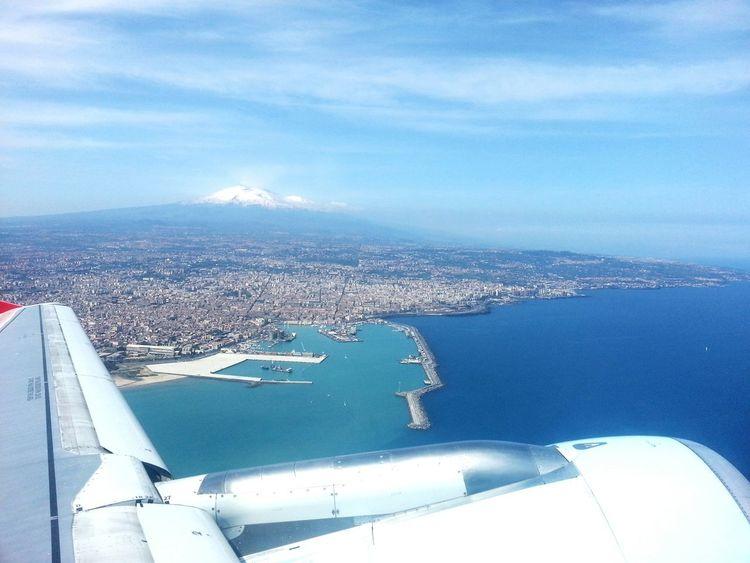 Air Plane, EyeEm Best Shots, Volcano