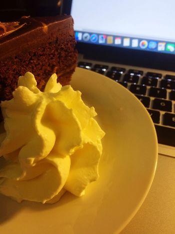 Food Cake Computer AppleComputer Cream CaramelCake